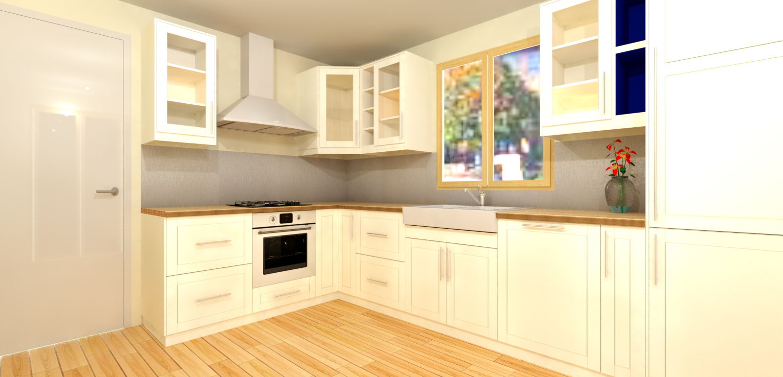 2016 click kitchen sketchup extension warehouse for Cuisine 3d ikea