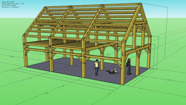Timber Framing Extensions Sketchup Extension Warehouse