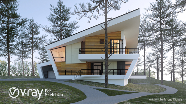 V ray for sketchup mac os