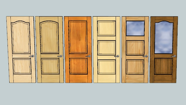 Custom single front doors - Gkware Door Maker Pro Gold Sketchup Extension Warehouse