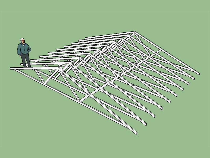 Medeek truss plugin sketchup extension warehouse for Sketchup deck design