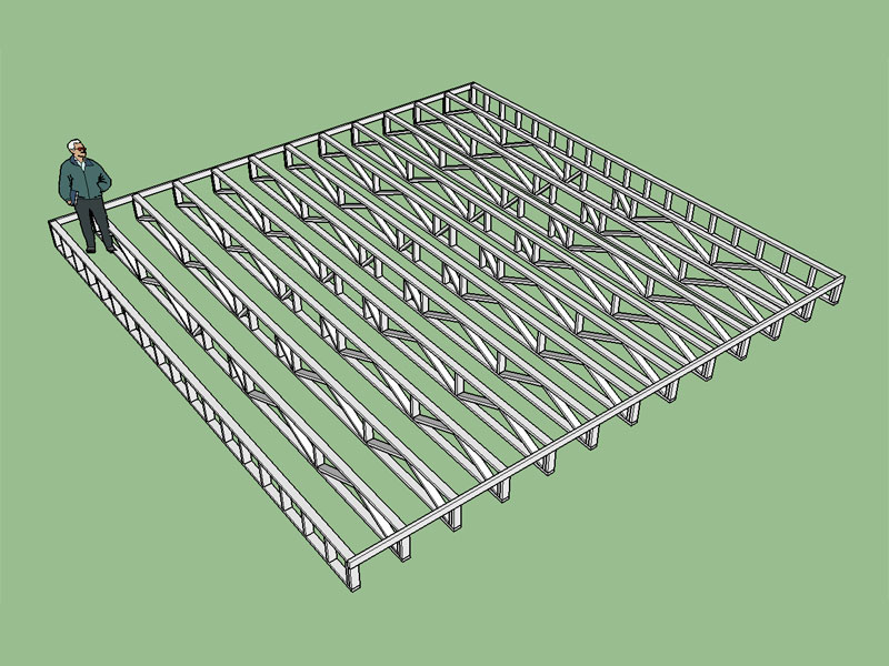Medeek truss plugin sketchup extension warehouse for Tji 210