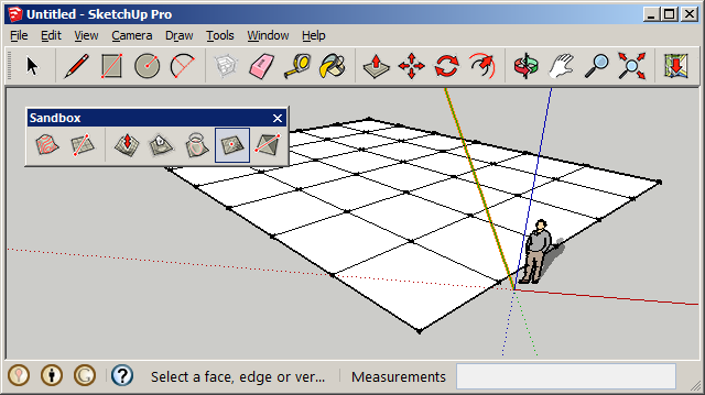 Drawing Smooth Lines In Autocad : Sandbox tools sketchup extension warehouse