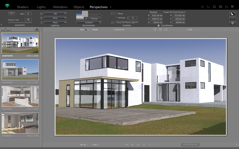 Artlantis 6 export plugin sketchup extension warehouse for Programma rendering free