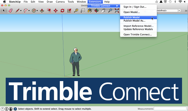 Managing models using Trimble Connect | SketchUp Help