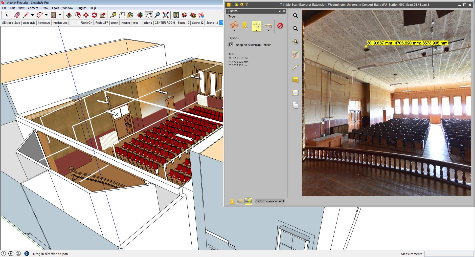 Trimble Scan Explorer Extension Sketchup Extension Warehouse