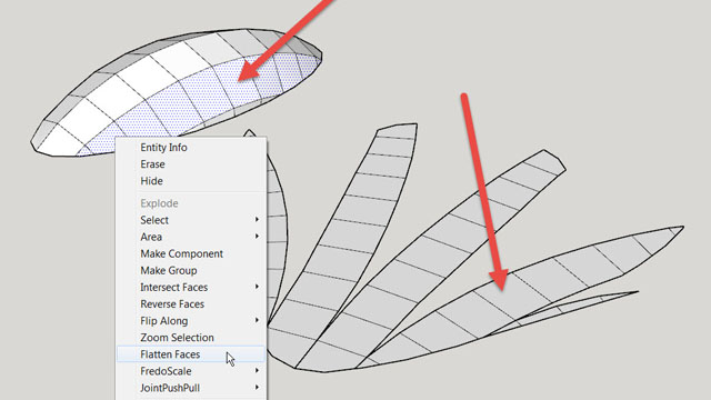 Easier Texturing Plugin For Su Unwrap And Flatten Faces